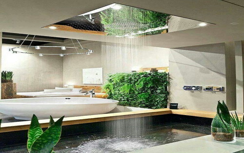 Natural showers