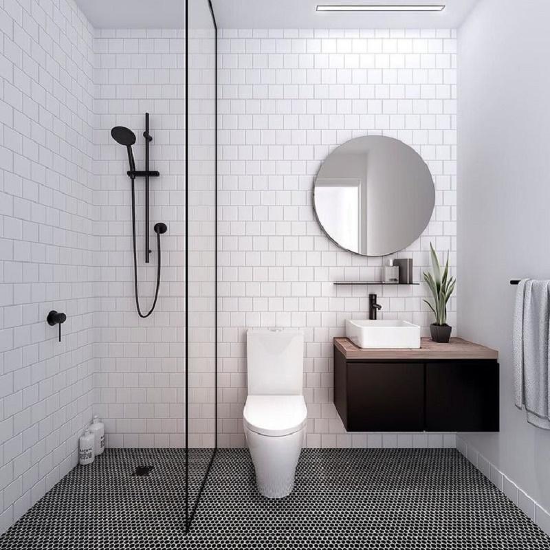 Small bathroom decoration