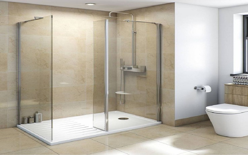SELECTION OF SHOWER CABINS