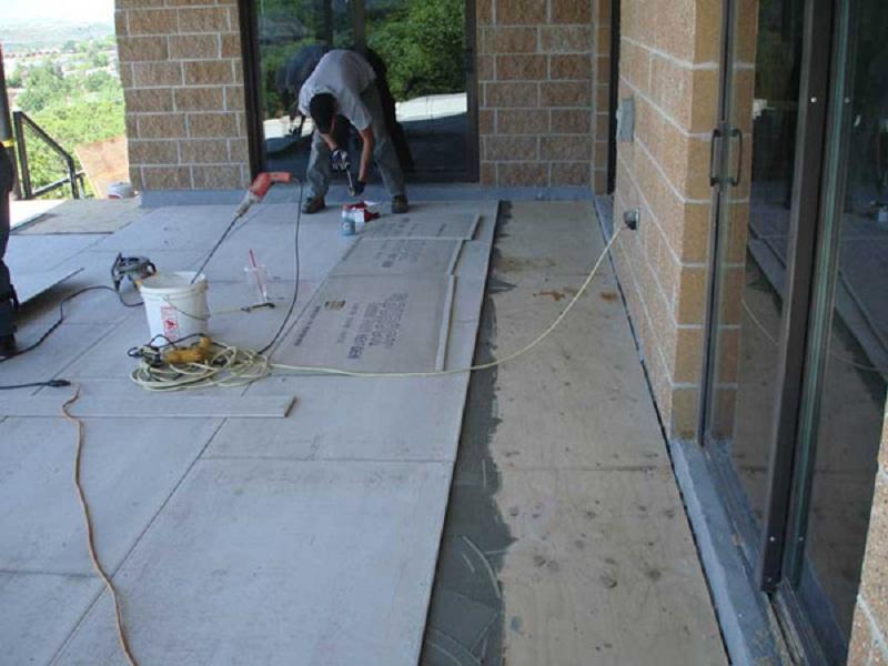 Waterproof Deck Over Living Space