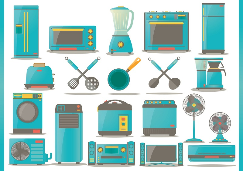 how to clean household appliances