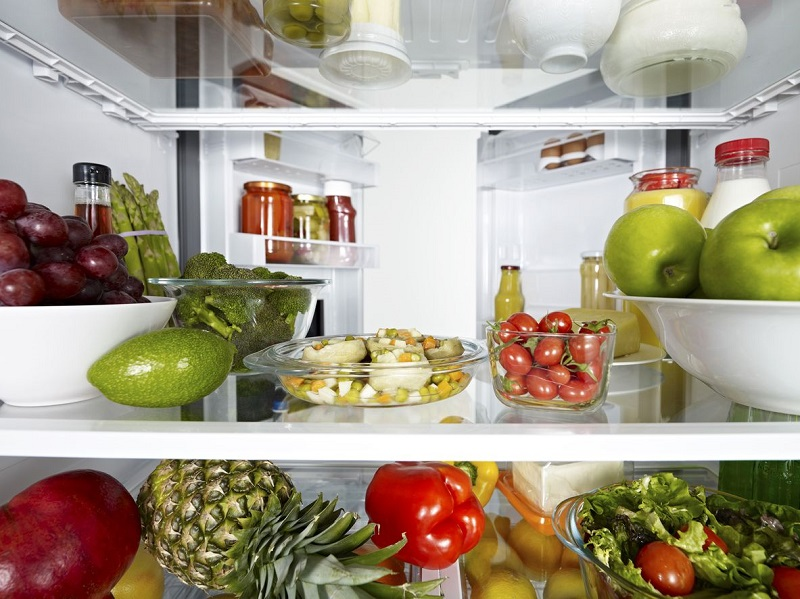 how to store food in the fridge diagram