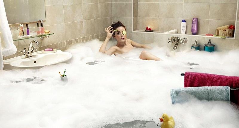 How to take a bath