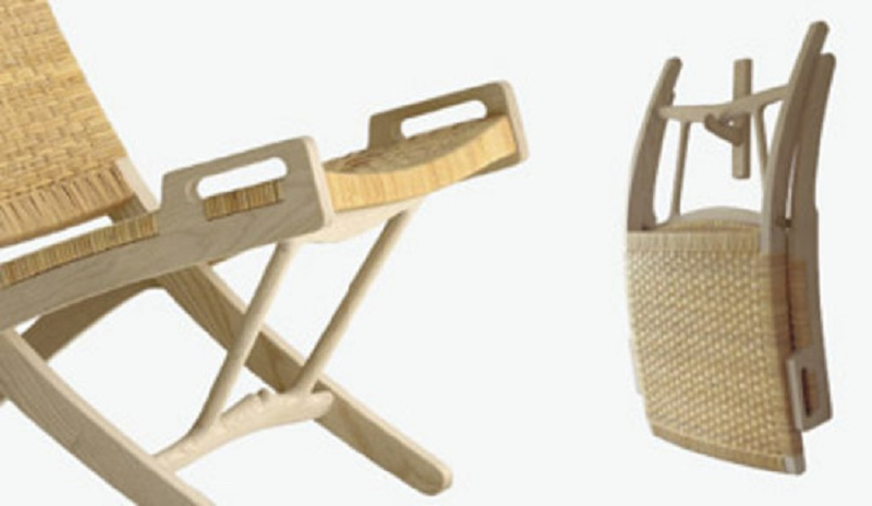 The folding chair