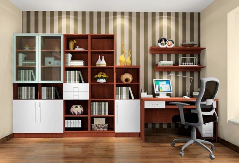 how to decorate study room