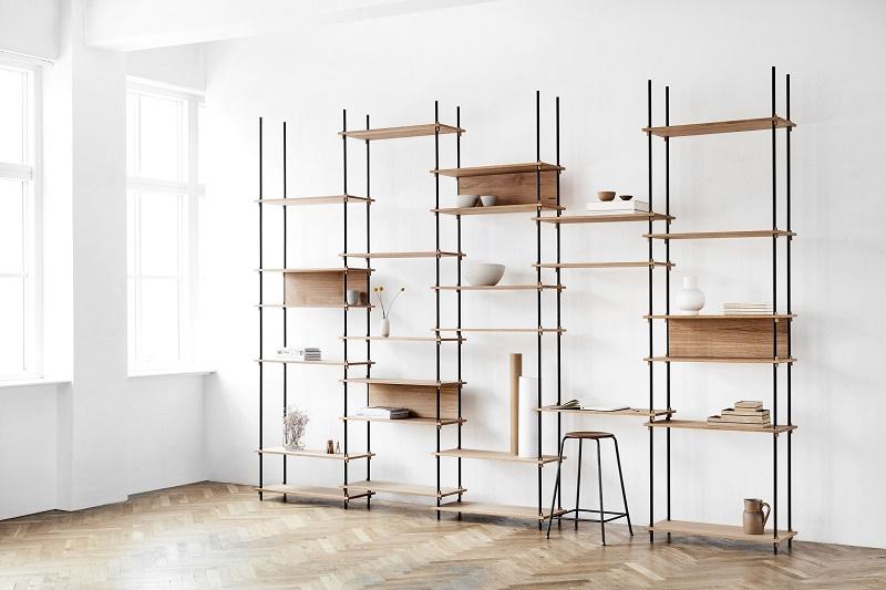 flexible shelves
