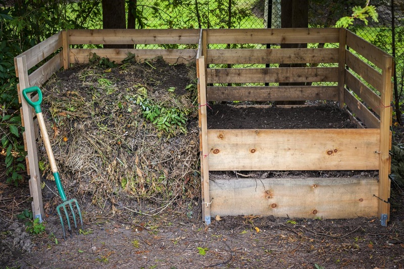 take care of prepared compost