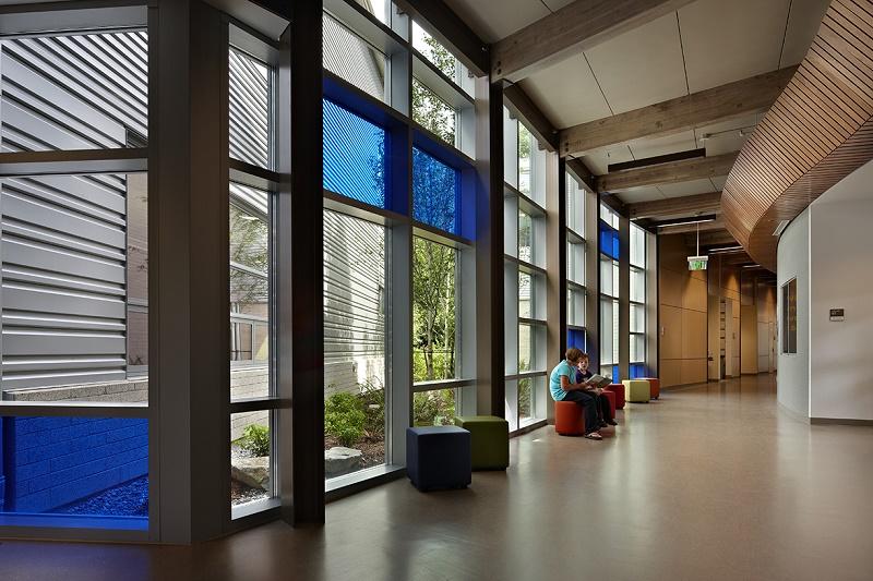 School corridors