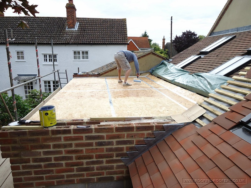 Roof waterproofing methods