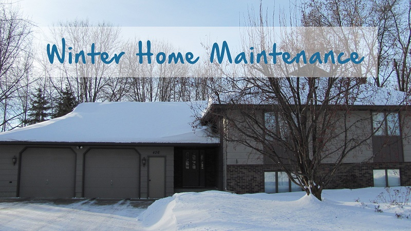 Winter home maintenance tips