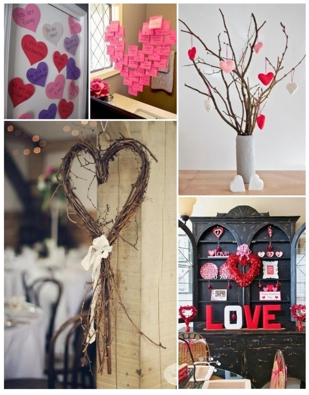 Decorate with hearts