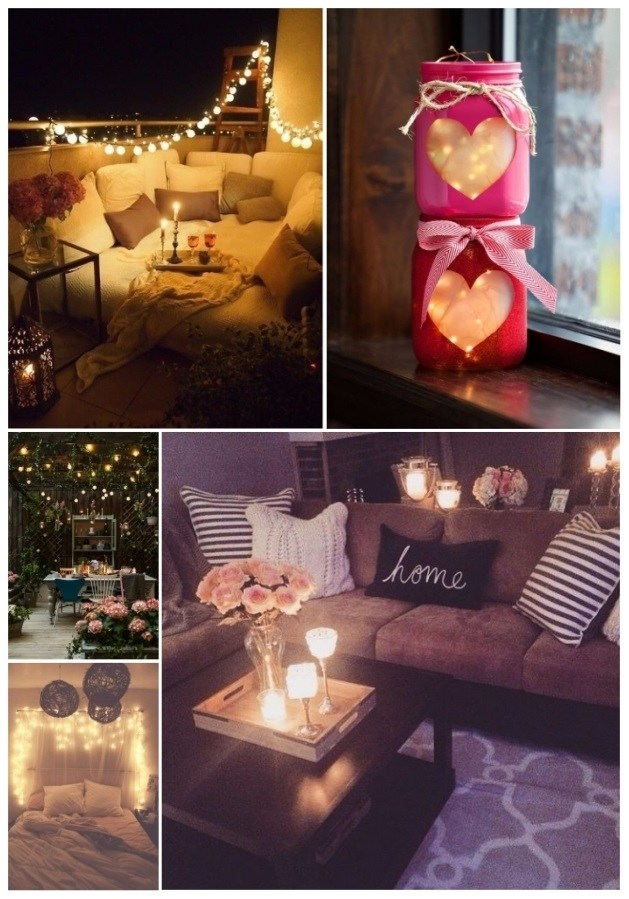 Decorate with lights