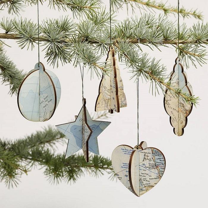 Christmas decoration vintage ornaments