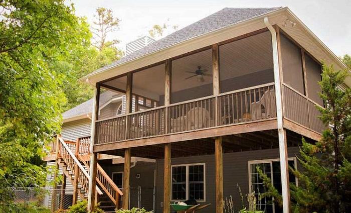 How to enclose a porch